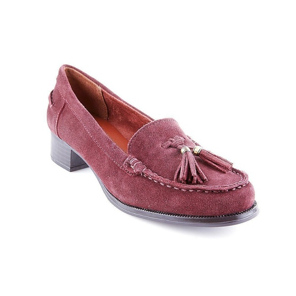 Naturalizer Shoes - Naturalizer suede tassel loafers in womens